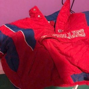 VINTAGE STARTER JACKET PHILLIES